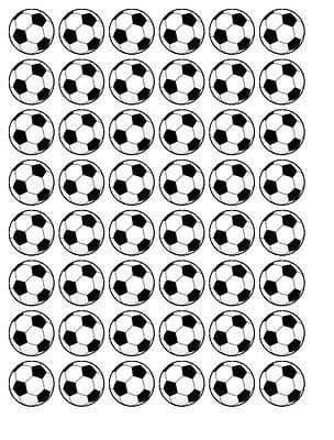 WORLD CUP 2018  EDIBLE CUPCAKE TOPPER DECORATIONS